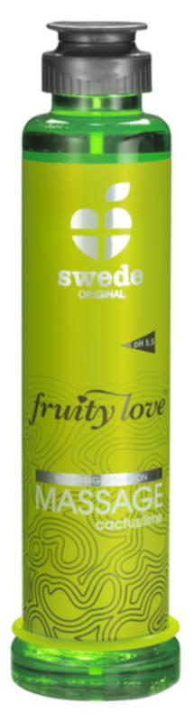 Emulsja do masażu intymnego kaktus-limonka Fruity Love MASSAGE Cactus/Lime